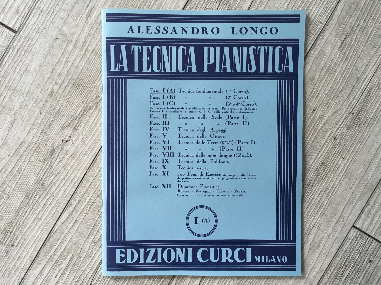 ALESSANDRO LONGO - La tecnica pianistica Vol. 1 A