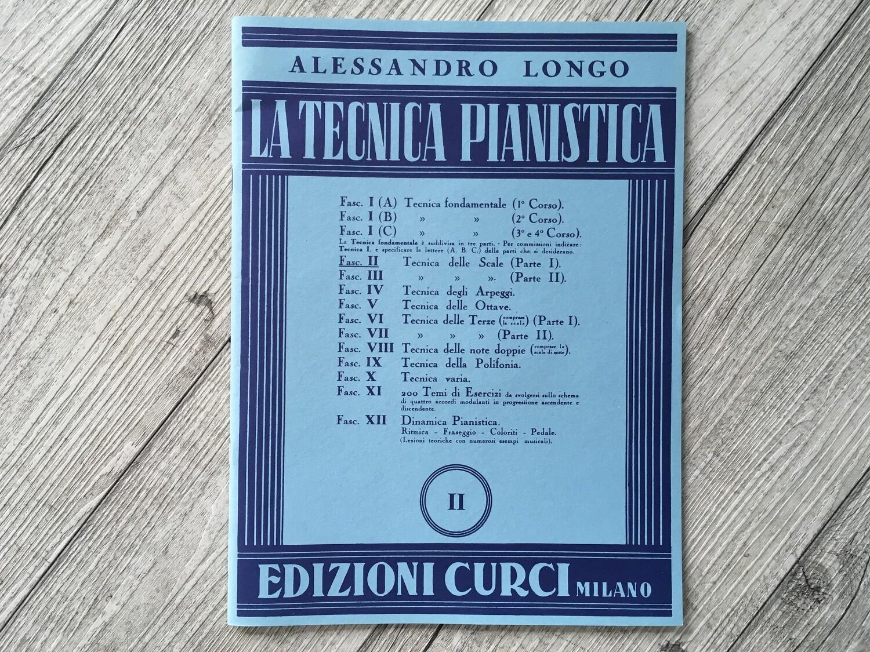ALESSANDRO LONGO - La tecnica pianistica Vol. 2