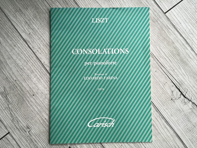 LISZT - Consolations (revisione di Edoardo Farina)