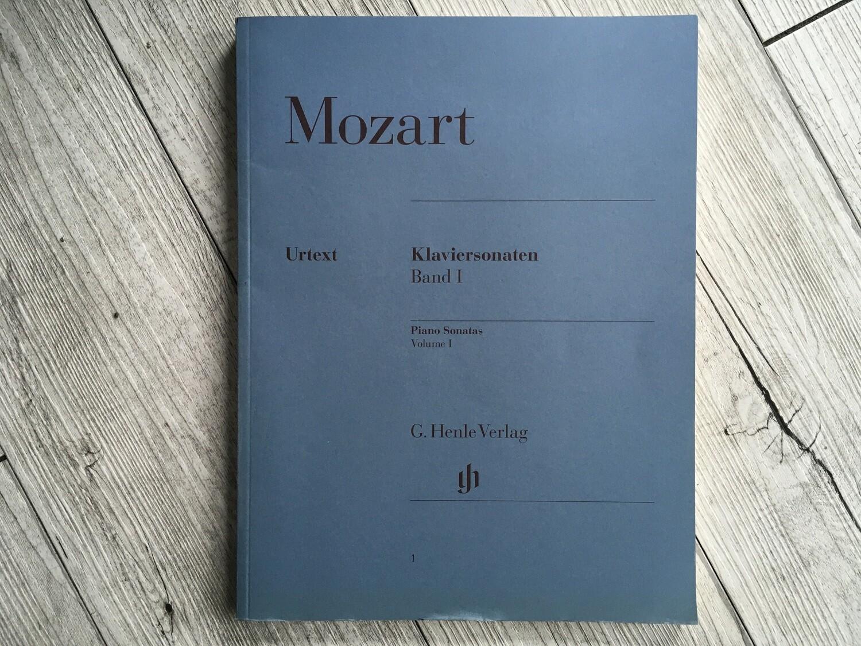 MOZART - Klaviersonaten Vol. 1