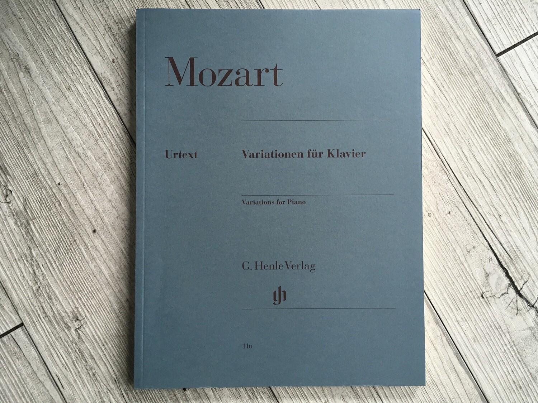MOZART - Variationen fur klavier