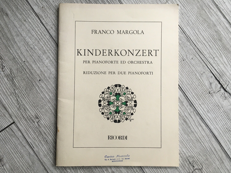 FRANCO MARGOLA - Kinderkonzert per pianoforte e orchestra