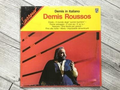 DEMIS ROUSSOS - Demis in italiano