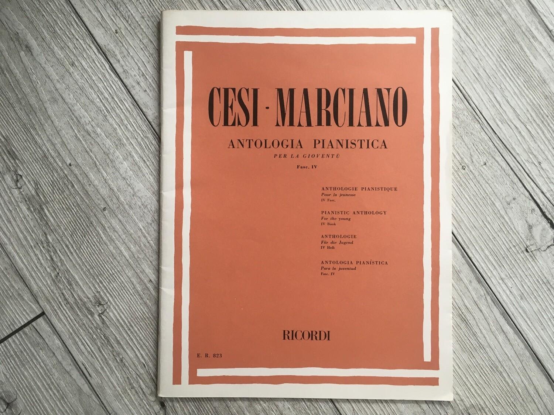 CESI MARCIANO - Antologia pianistica per la gioventù Vol. 4