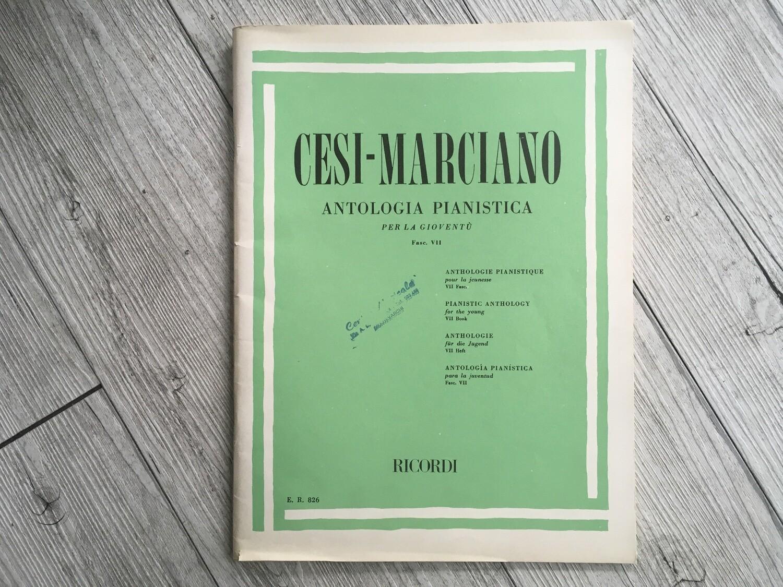 CESI MARCIANO - Antologia pianistica per la gioventù Vol. 7