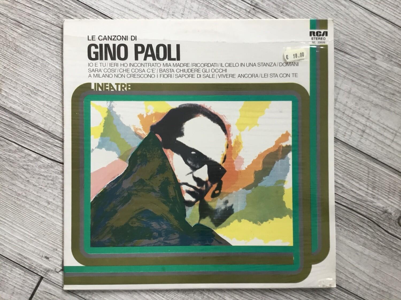 GINO PAOLI - Le canzoni di Gino Paoli