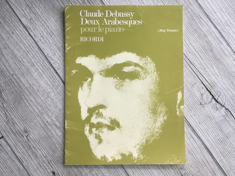 CLAUDE DEBUSSY - Deux arabesques per pianoforte