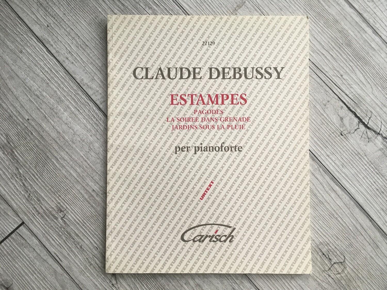 CLAUDE DEBUSSY - Estampes per pianoforte