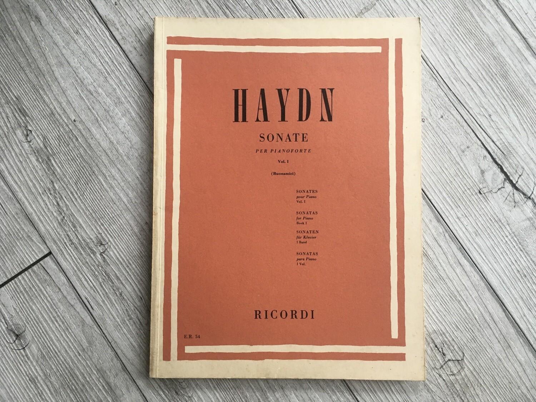 HAYDN - Sonate per pianoforte Vol. 1