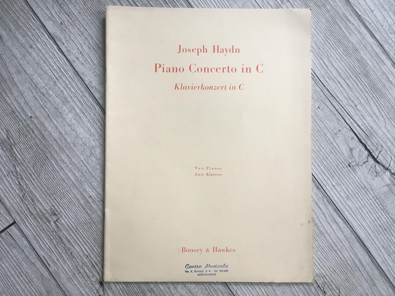 JOSEPH HAYDN - Piano concerto in C