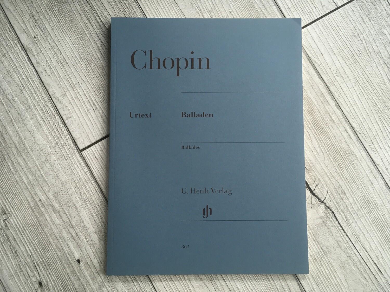 CHOPIN - Balladen