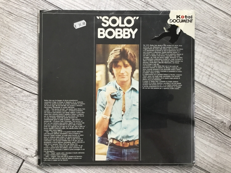 BOBBY SOLO - Solo