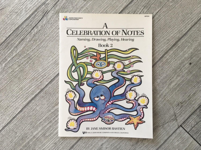 JAMES BASTIEN - A Celebration Of Notes Vol. 2