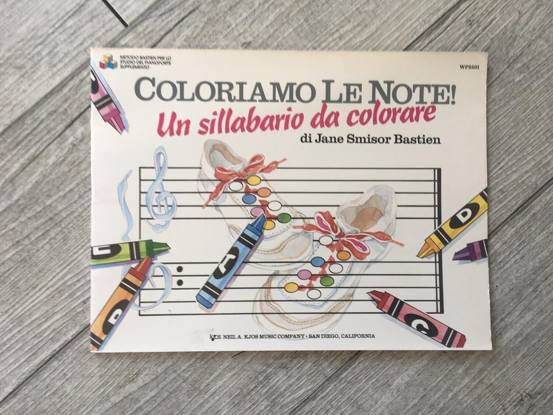 JAMES BASTIEN - Coloriamo Le Note