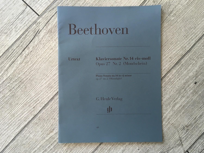 BEETHOVEN - Klaviersonate N. 14 In C# Minor