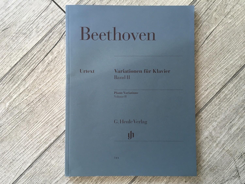 BEETHOVEN - Variationen Fur Klavier Vol. 2