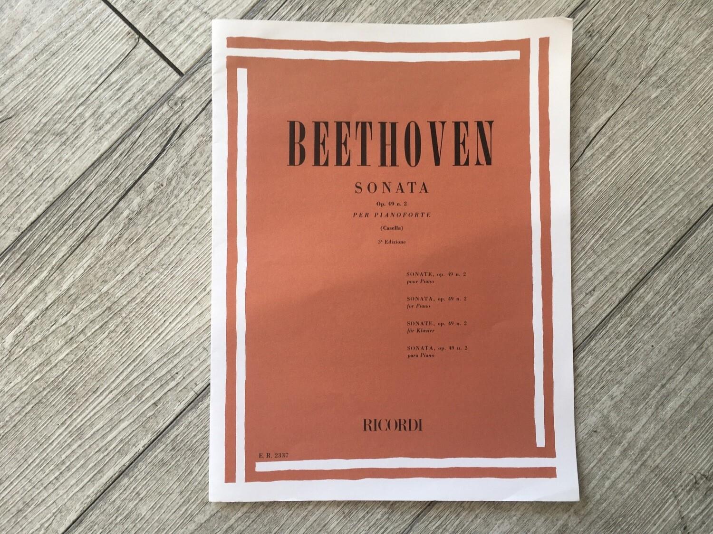 BEETHOVEN - Sonata Per Pianoforte Op. 49 N. 2