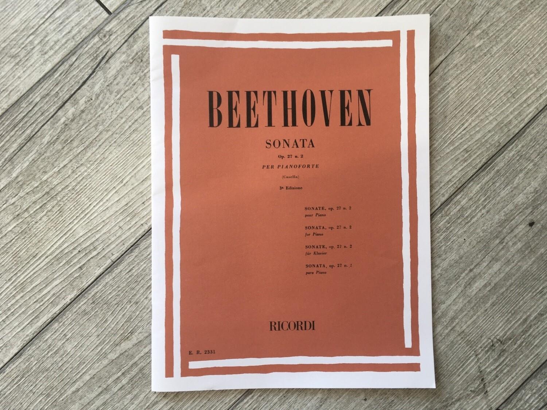 BEETHOVEN - Sonata Per Pianoforte Op. 27 N. 2