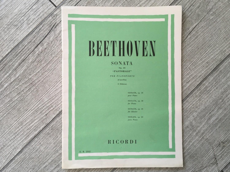 BEETHOVEN - Sonata Pastorale Op. 28