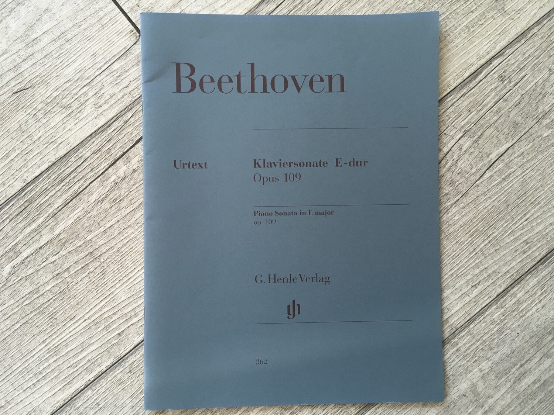BEETHOVEN - Klaviersonate E Dur Op. 109