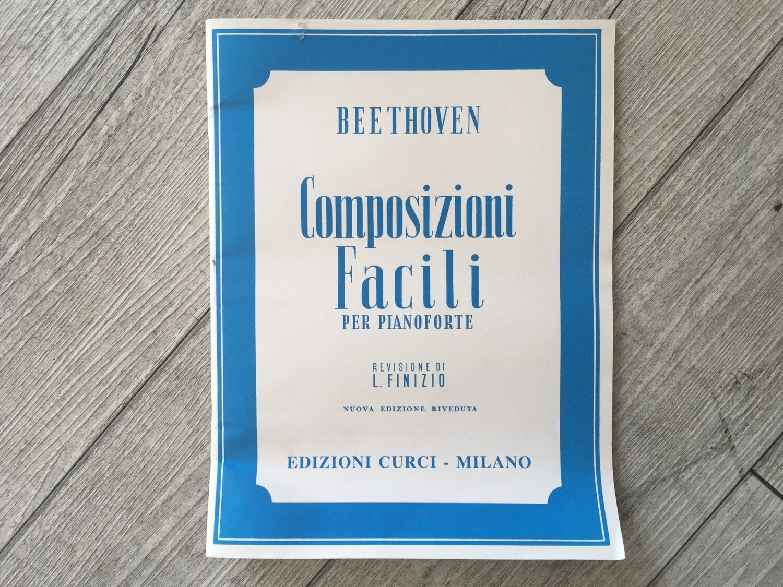 BEETHOVEN - Composizioni Facili Per Pianoforte