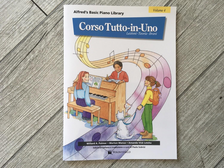 WILLARD A. PALMER - Corso Tutto In Uno Vol. 4