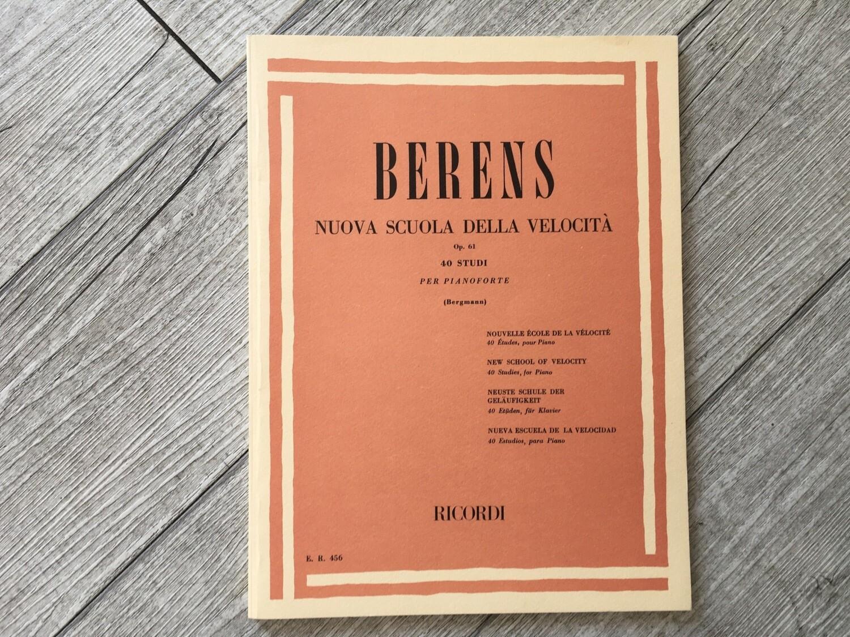BERENS - Nuova Scuola Della Velocità 40 Studi Op. 61