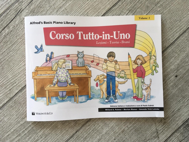 WILLARD A. PALMER - Corso Tutto In Uno Vol. 1