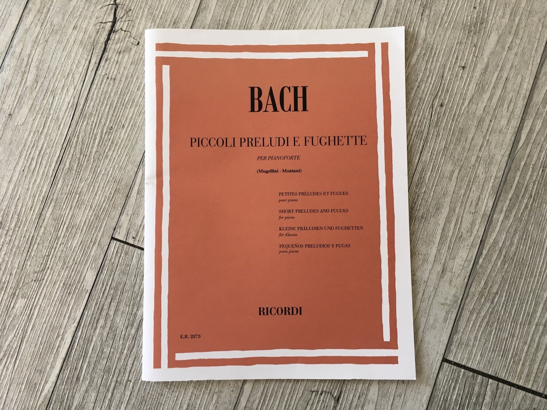 BACH - Piccoli Preludi E Fughette