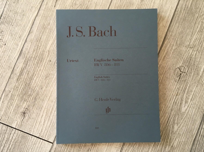 J. S. BACH - Englische Suiten