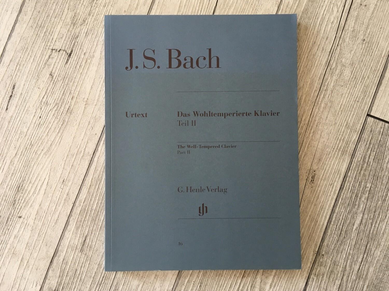 J. S. BACH - Das Wohltemperierte Klavier Teil 2