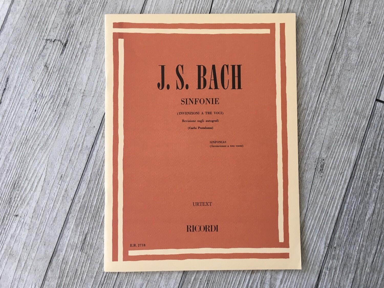 J. S. BACH - Sinfonie (invenzioni A Tre voci)