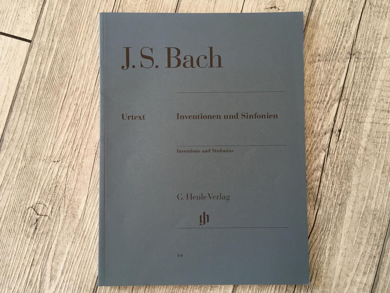 J. S. BACH - Inventionen Und Sinfonien