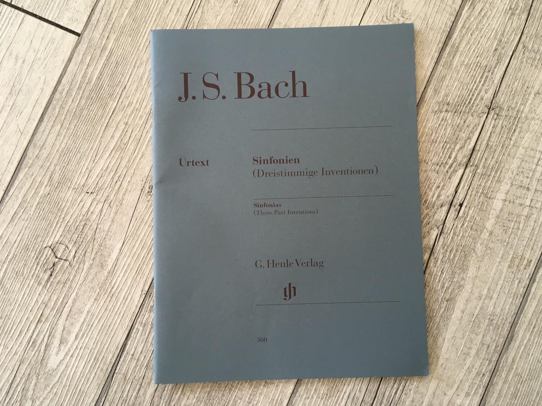 J. S. BACH - Sinfonien