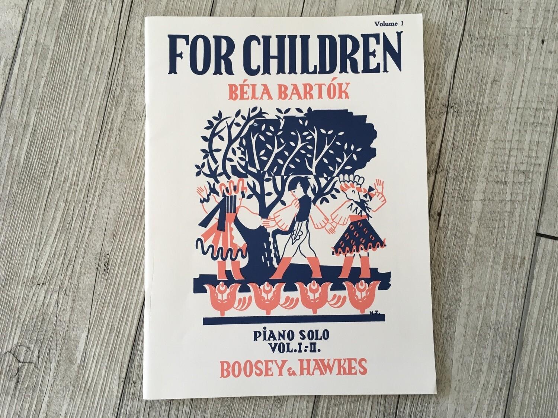 BÉLA BARTÓK - For Children Piano Solo Vol 1