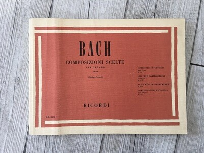 BACH - Composizioni Scelte Per Organo Vol. 2