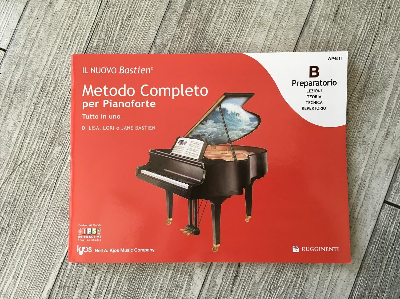 IL NUOVO BASTIEN - Metodo completo per pianoforte preparatorio B