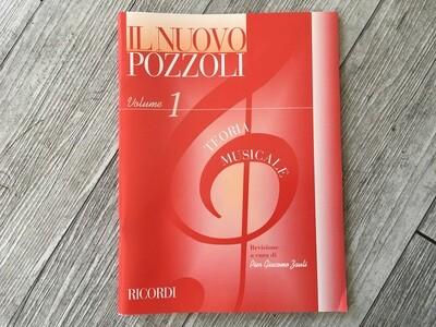 IL NUOVO POZZOLI - Teoria musicale Vol. 1