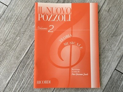 IL NUOVO POZZOLI - Teoria musicale Vol. 2
