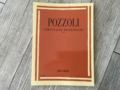 POZZOLI - Corso facile di solfeggio Vol. 1