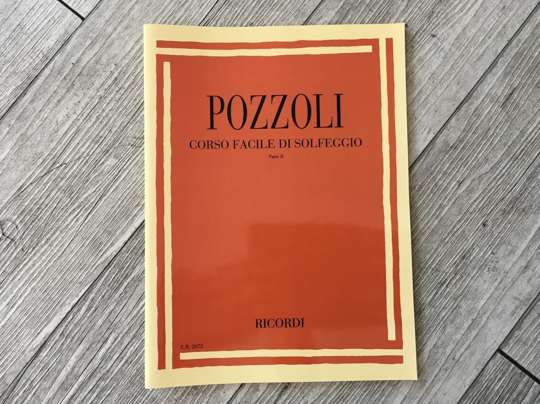 POZZOLI - Corso facile di solfeggio Vol. 2