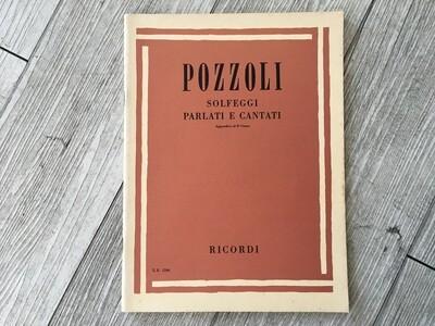 POZZOLI - Solfeggi parlati e cantati (appendice al 3 corso)