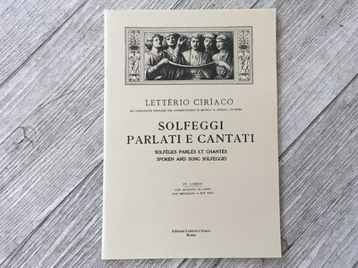 LETTERIO CIRIACO - Solfeggi parlati e cantati Vol. 4