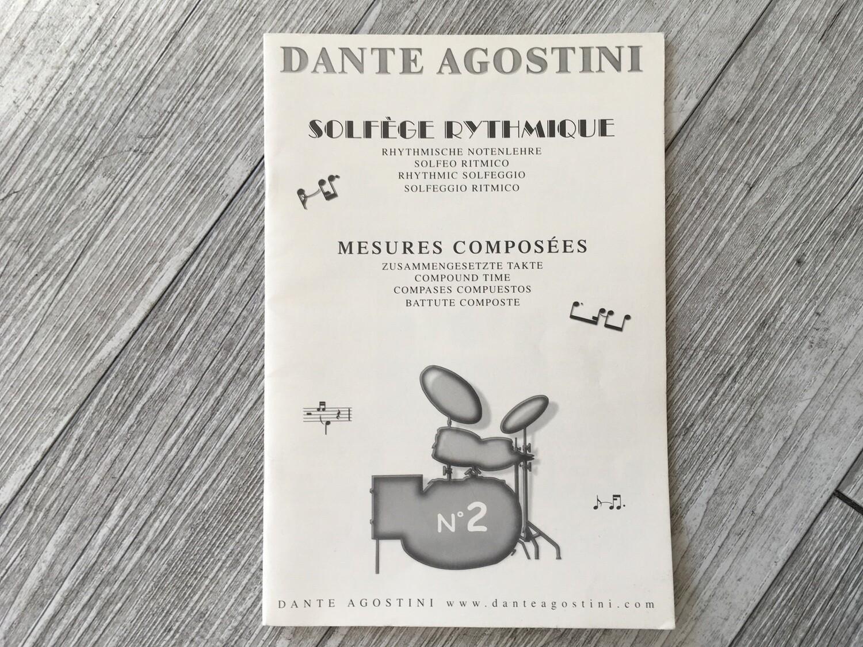 DANTE AGOSTINI - Solfeggio ritmico Vol. 2