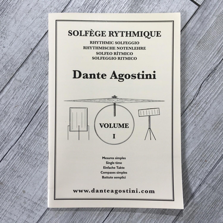 DANTE AGOSTINI - Solfege rythmique Vol. 1