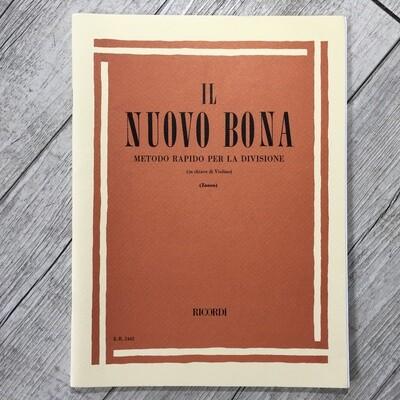 IL NUOVO BONA - Metodo rapido per la divisione (in chiave di violino)