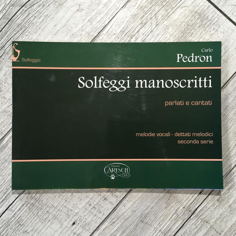 CARLO PEDRON - Solfeggi manoscritti Vol. 2