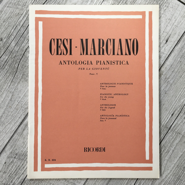 CESI MARCIANO - Antologia pianistica per la gioventù Vol. 5