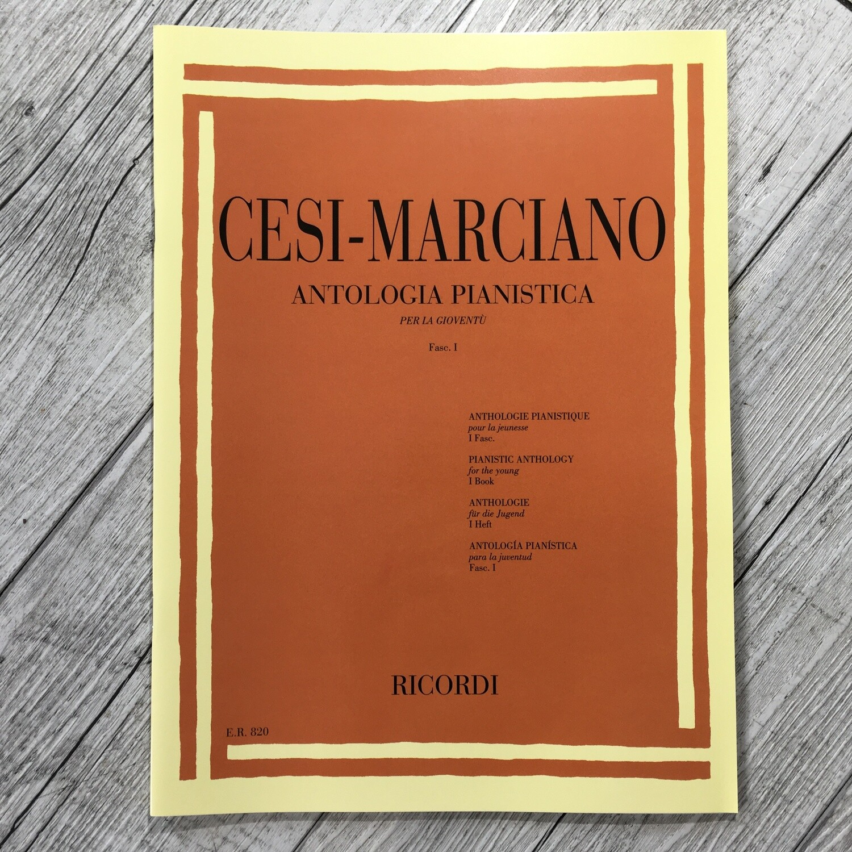CESI MARCIANO - Antologia pianistica per la gioventù Vol. 1