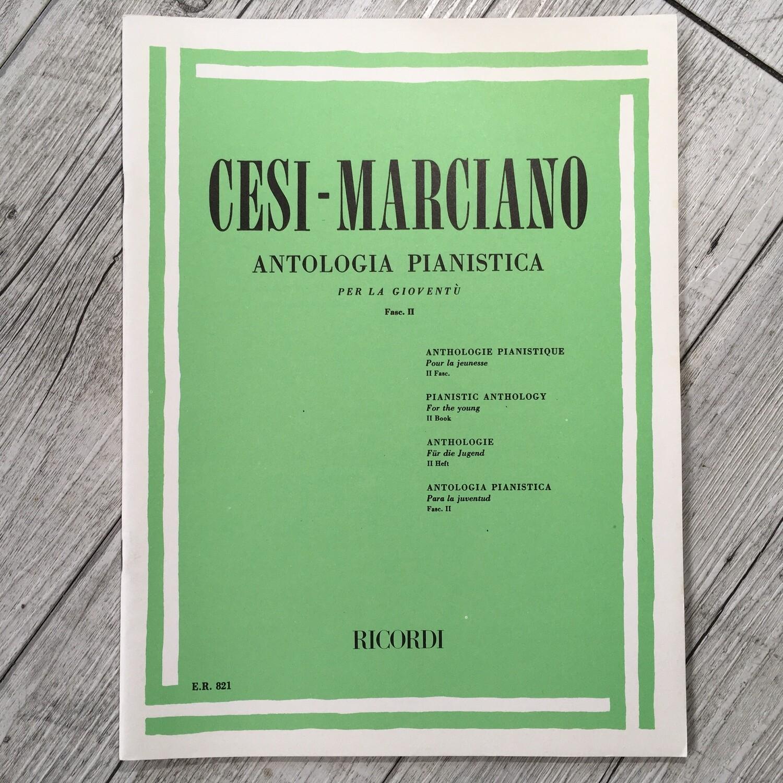 CESI MARCIANO - Antologia pianistica per la gioventù Vol. 2
